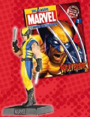 Classic Marvel Figurine Collection #002 Wolverine Eaglemoss Publications